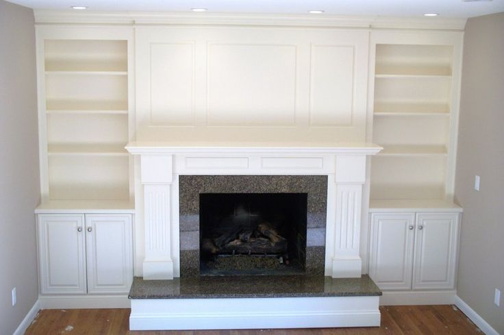 Delicieux Built In Shelves With Cabinets Fireplace Surround   Google Search