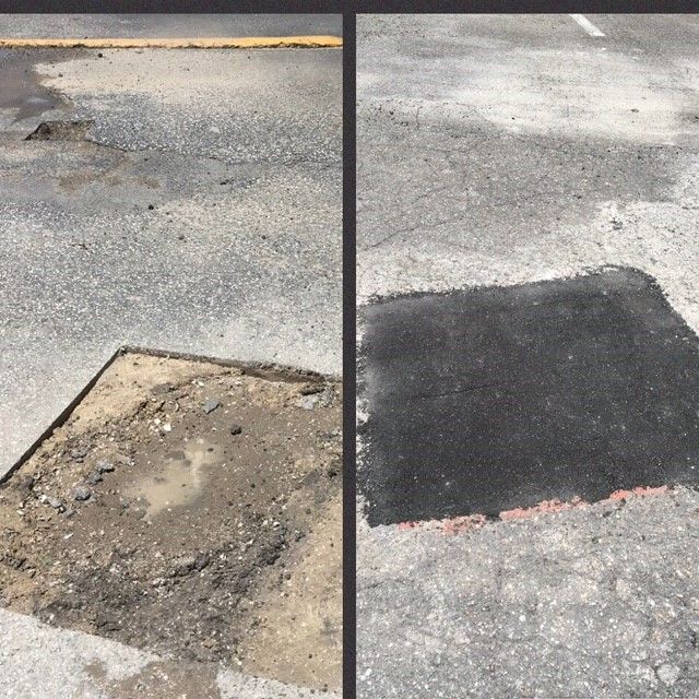 Pot Holes Does Driving Through Your Parking Lot Feel Like You Re On A Bumpy Dirt Road Pot Holes Cause Tremendo Asphalt Pavement Asphalt Repair Asphalt Patch