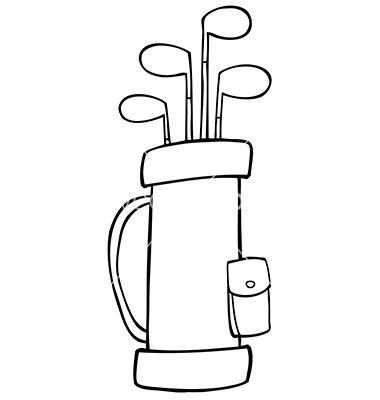 96bf67010c579c20fed226588fc4d13b golf club bag clip art golf bag rh pinterest co uk Golf Clubs free golf bag clipart