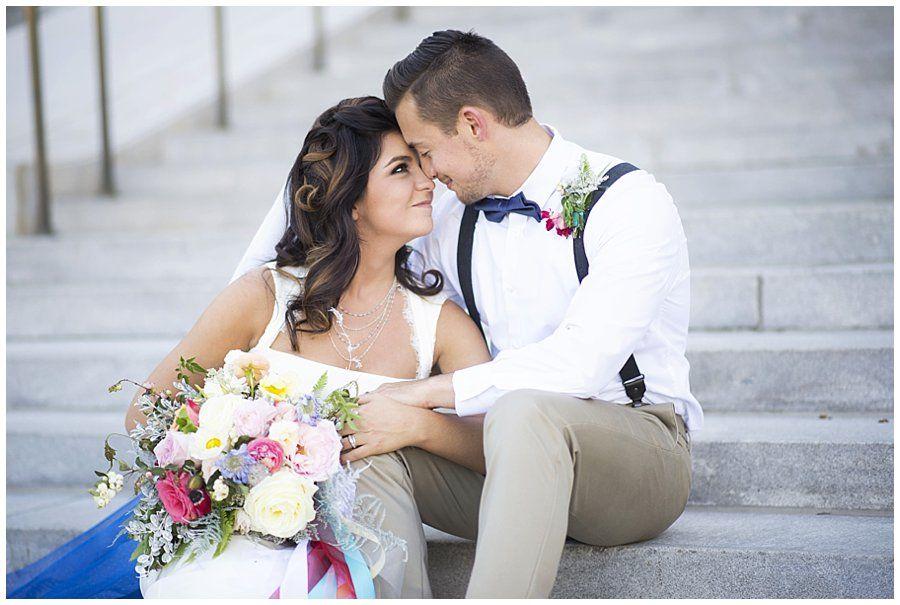 Big Fake Wedding Civic Center Park Portraits (With Images