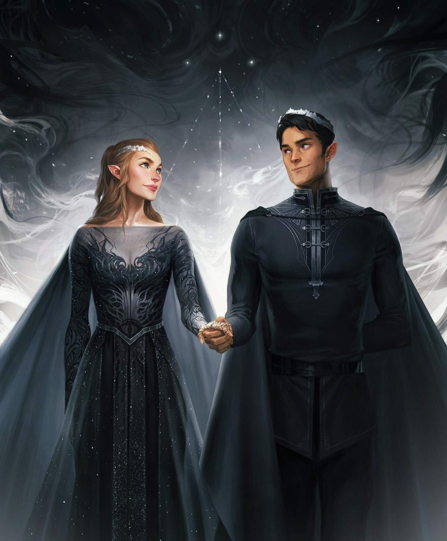 Feyre Rhysand By Charlie Bowater A Court Of Thorns And Roses