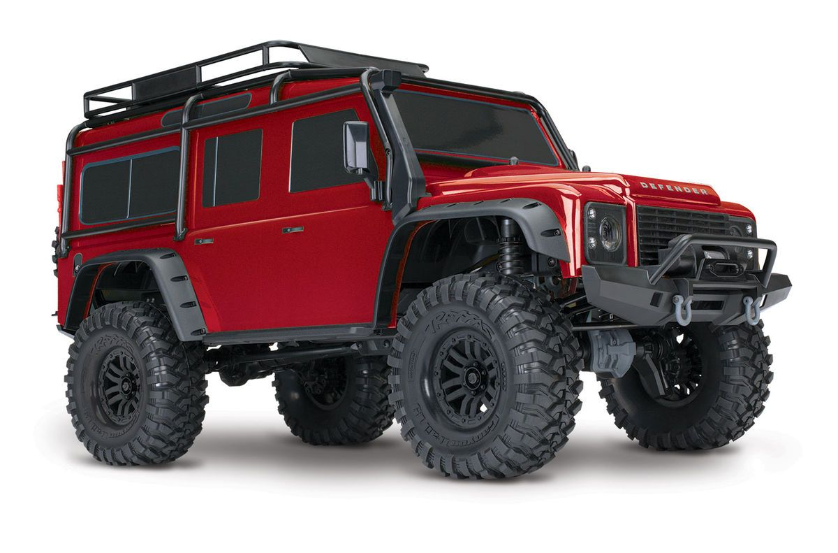 Traxxas Trx 4 Scale Crawler Land Rover Defender D110 Rtr Eurorc