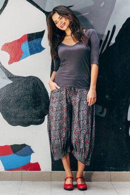 ef897bbdf4eb Boom Shankar 50s dresses Guru Pants Printed - Womens Pants - Birdsnest  Online Shop