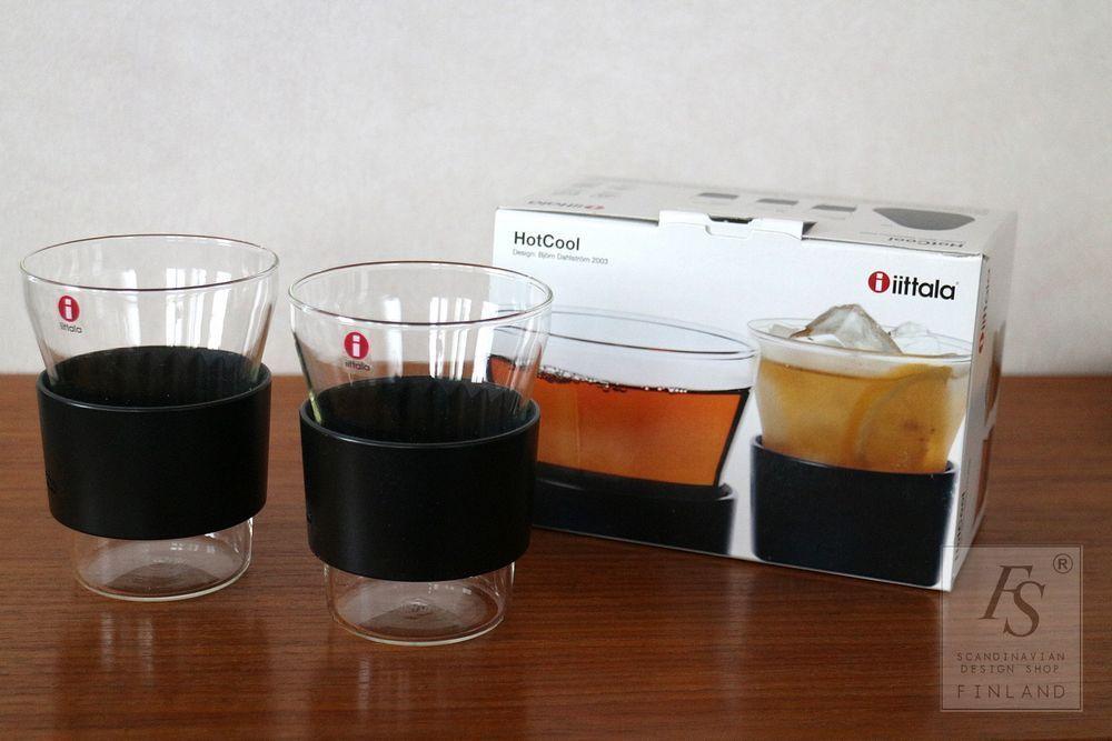 Iittala Hotcool Tea Glass 2 Pcs Bjorn Dahlstrom Irish Coffee Glasses Coffee Glasses Glass