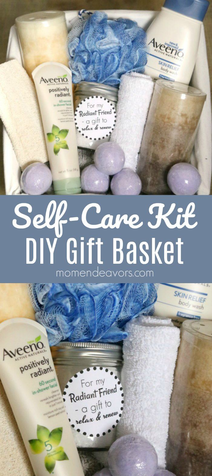 Self Care Kit Gift Basket