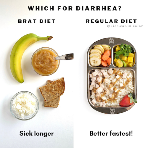 what to give a toddler with diarrhea to eat