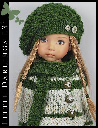 """*** Camouflage *** Outfit for Little Darlings Effner 13"""" by Maggie & Kate Create"""