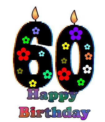 happy birthday happy birthday pinterest happy birthday rh pinterest co uk 60th birthday clip art images 60th birthday clip art images