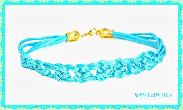 Angela Sewrella: Knoten-Armband