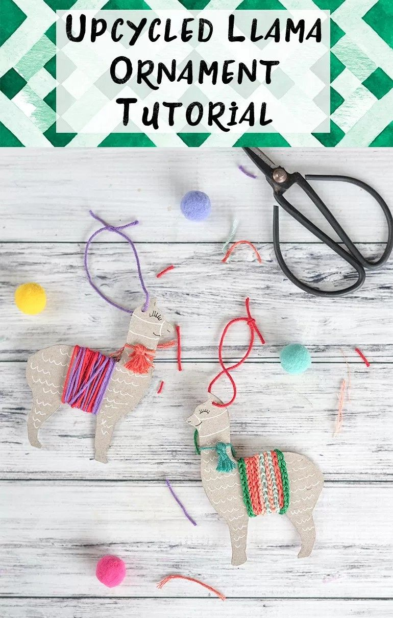 diy christmas llama decoration - Llama Christmas Decoration