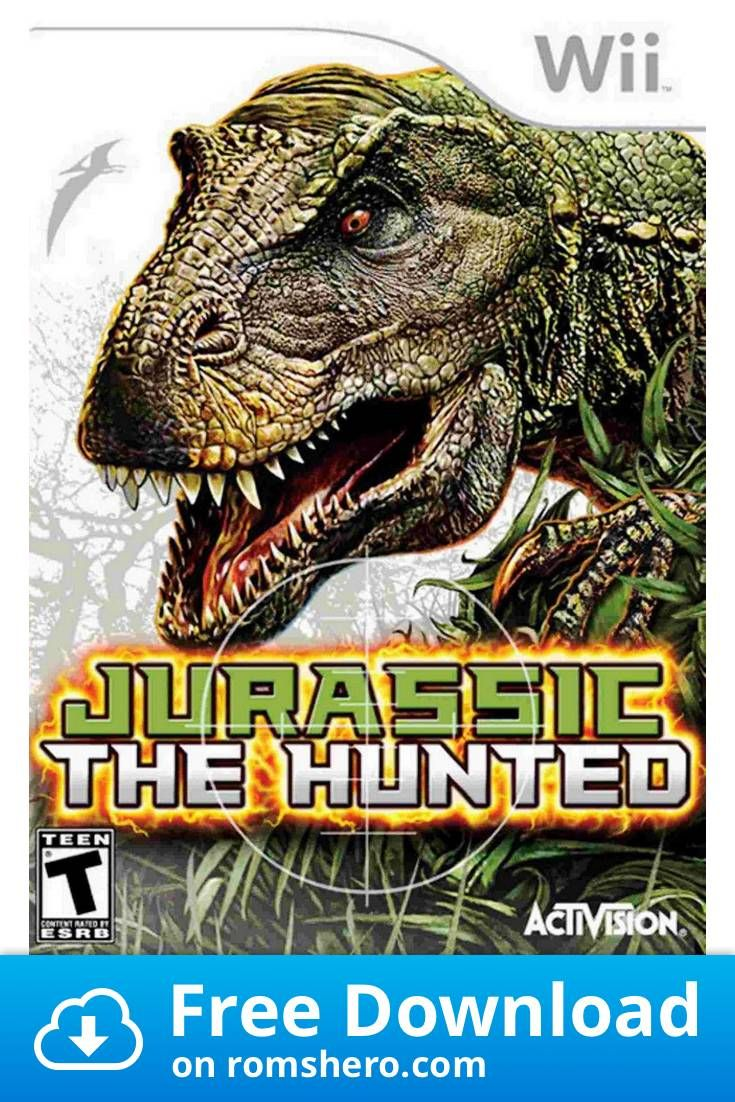 Download Jurassic The Hunted Nintendo Wii Wii Isos Rom In 2020 Wii Nintendo Wii Xbox