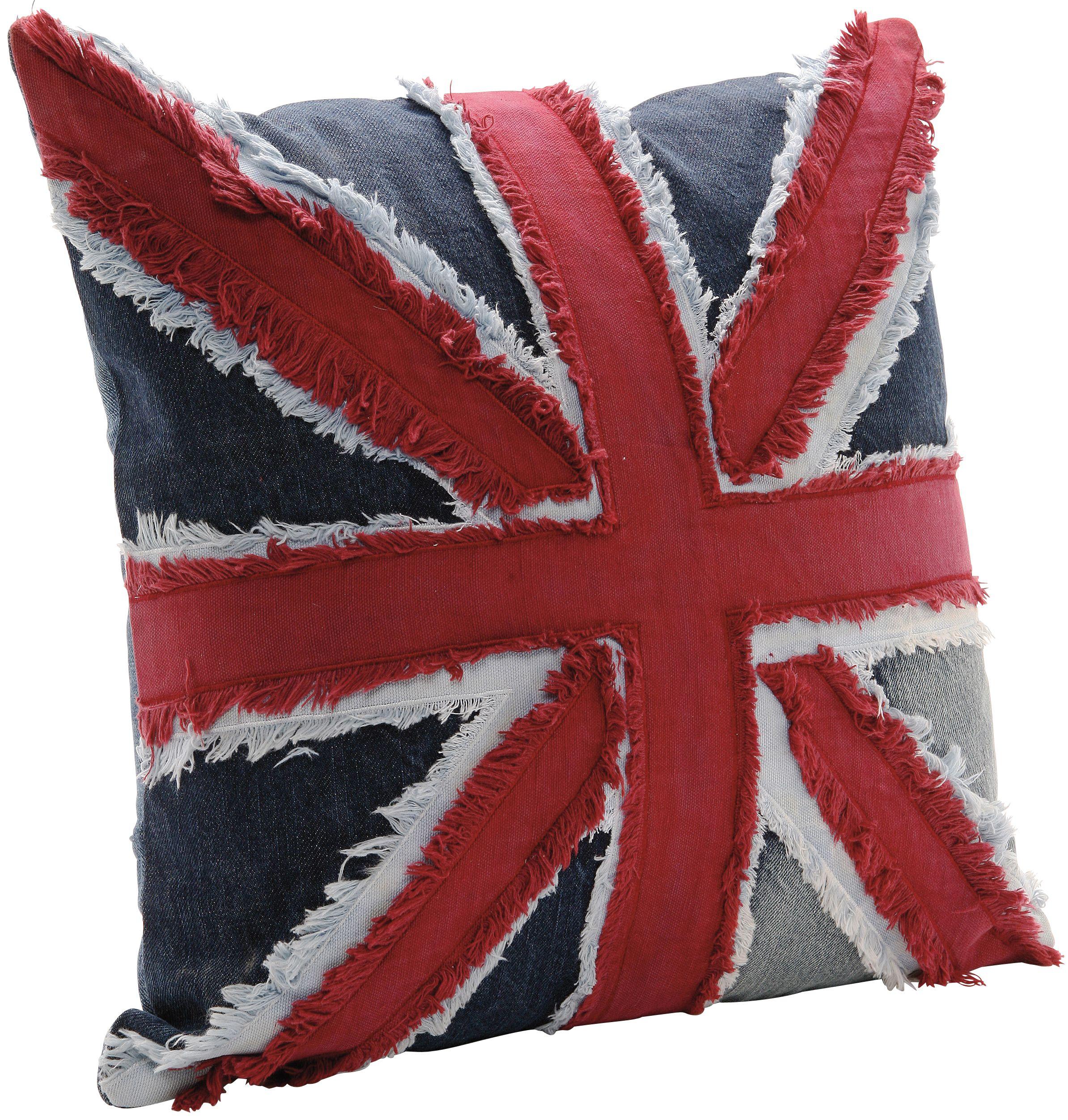 Kare Design Kissen Union Jack In Der Grosse 40 Mal 40 Cm Vollstandig