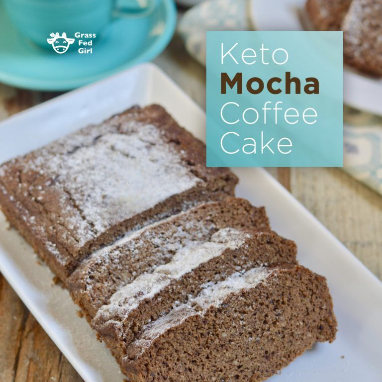 Best Keto Mocha Coffee Cake Coffee cake, Keto cake