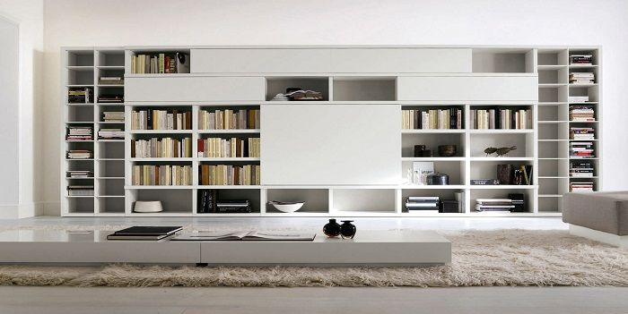 libreria metallo soggiorno - Cerca con Google   Decor concepts ...