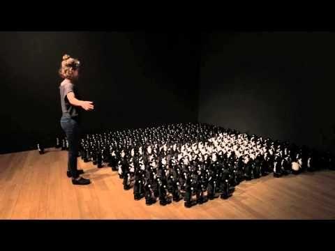 Penguins Mirror 2015 by Daniel Rozin