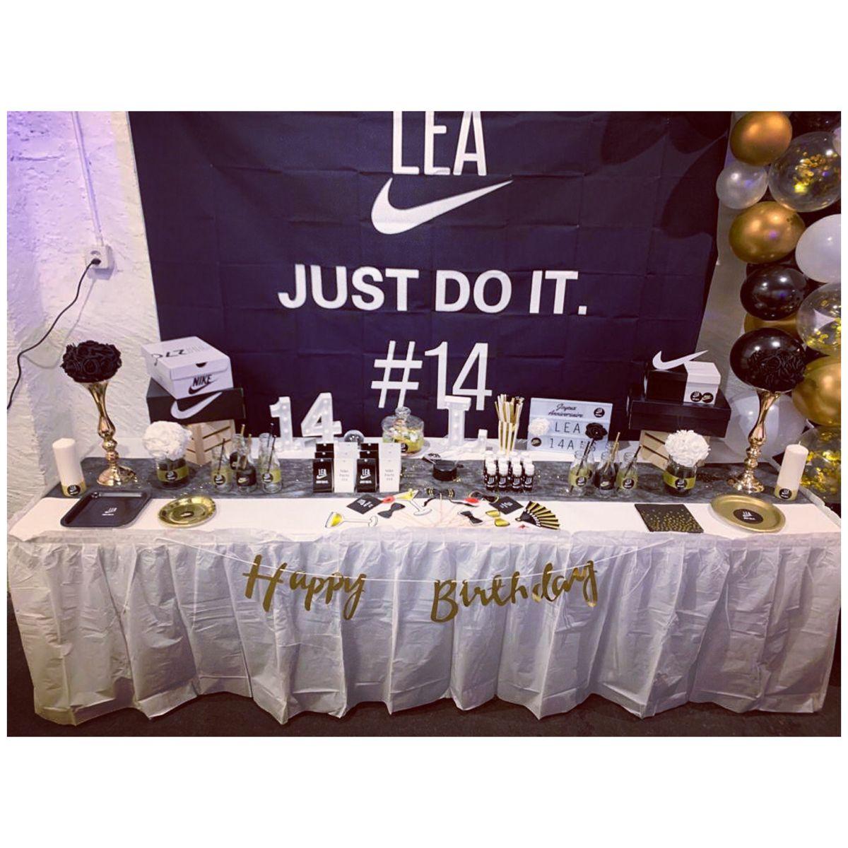 22 idées de Anni Nike lele | anniversaire, nike, décoration ...