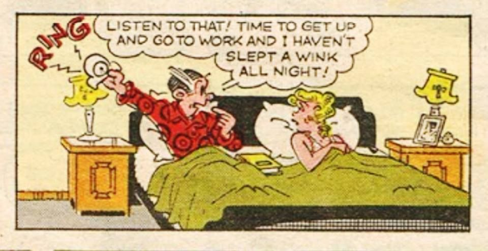 Dagwood blondie sex and cartoon theme