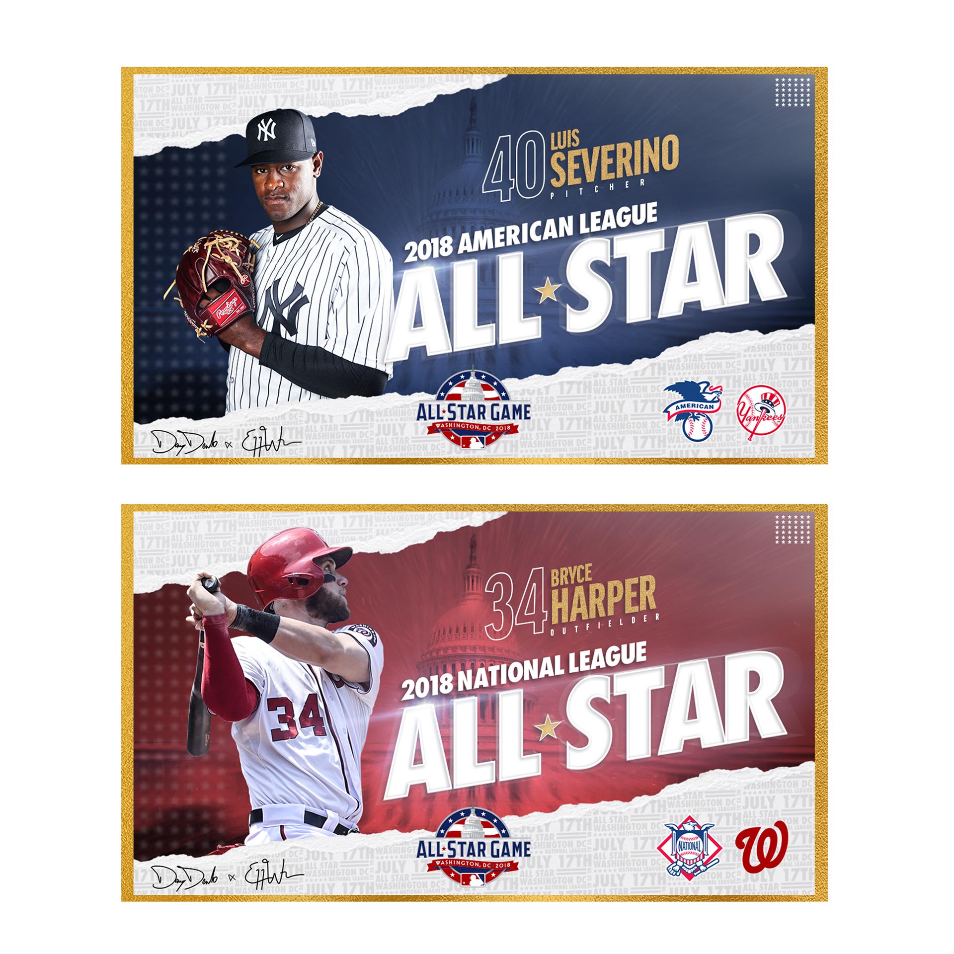 2018 Mlb All Star Game On Behance Sports Graphic Design Baseball Poster Design Sports Design Inspiration