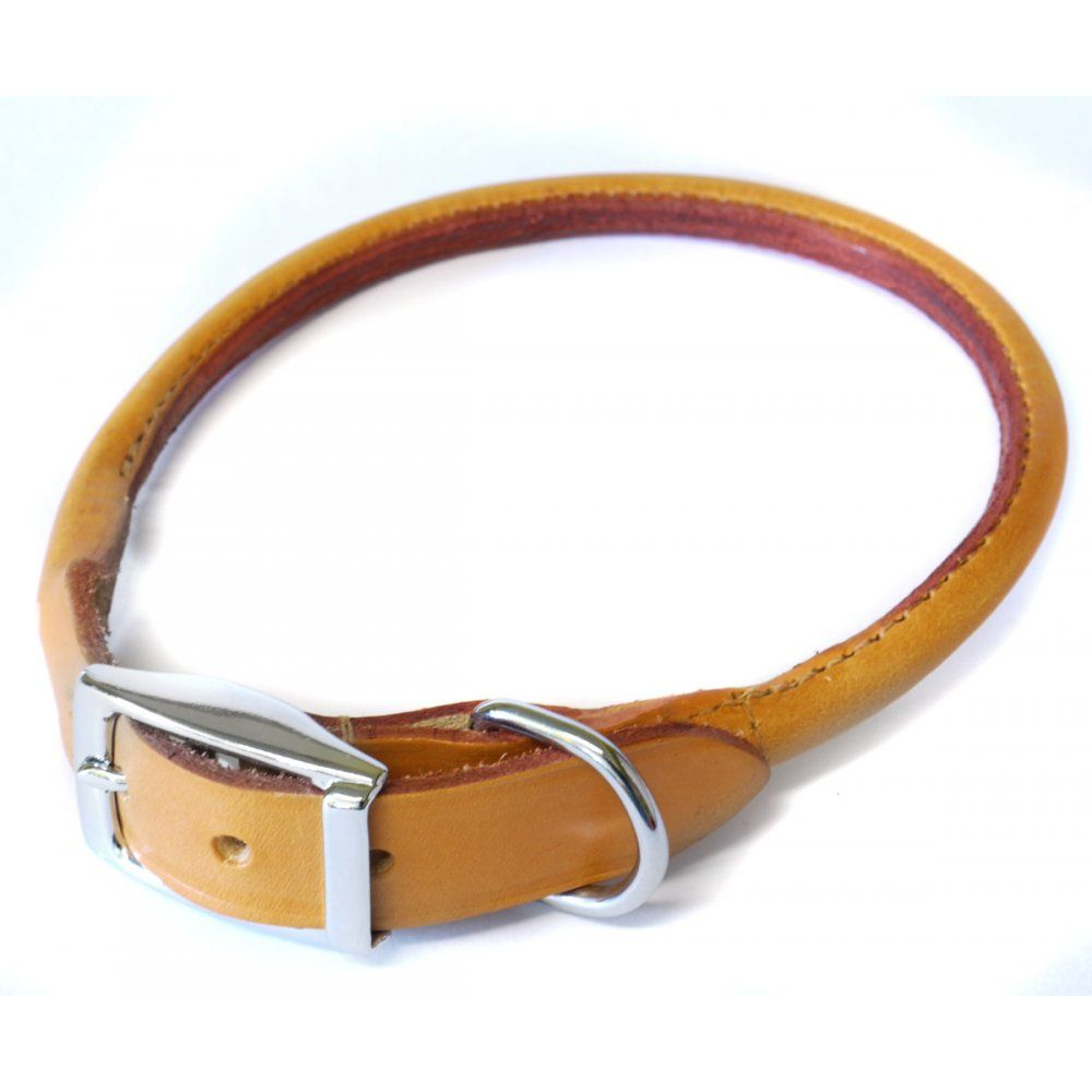 Rolled Leather Dog Collar Use The Instructions For Handle 10