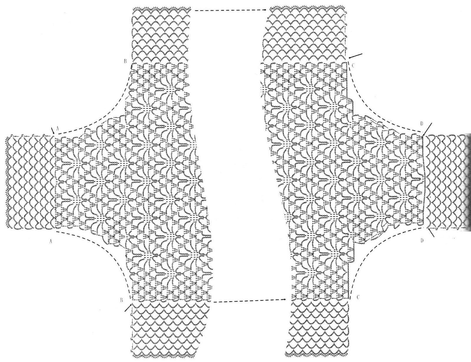 lace+crochet+shrug+for+summer+3+(2).jpg (1600×1230) | Crocheteando ...