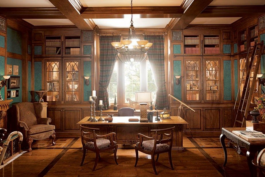 30 Best Traditional Home Office Design Ideas Traditional Home