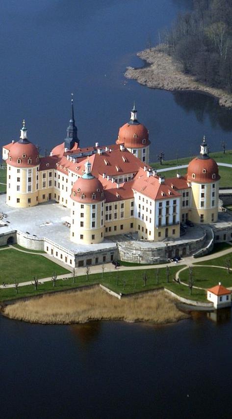 Schloss Moritzburg Sachsen Germany Places Castle Germany