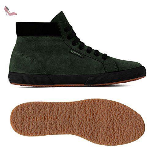 Chaussures 2204-SUEM Superga en vert pour homme