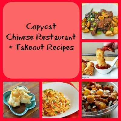 35 Copycat Chinese Restaurant Recipes Cooking Chinese Food Resturant Recipes Restaurant Recipes