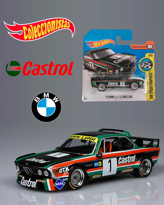 Hot Wheels Bmw 73 3 0 Cls Race Car Short Card