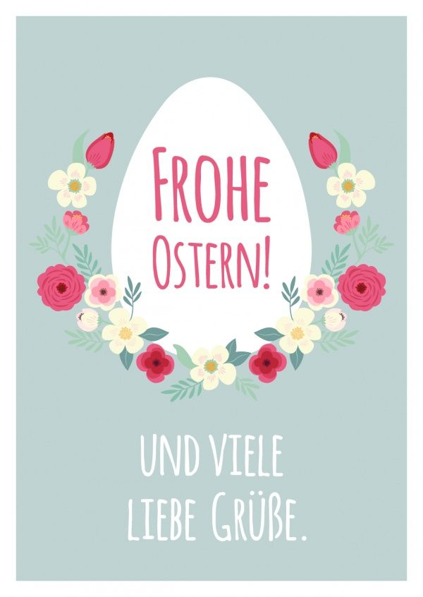 Frohe Ostern Viele Liebe Grüße Spring Easter Easter Happy