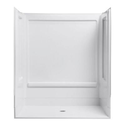 Superieur STERLING ADA Shower 39 3/8 In. X 631/4 In. X 73 1/4 In. 4 Piece Shower  Stall In White