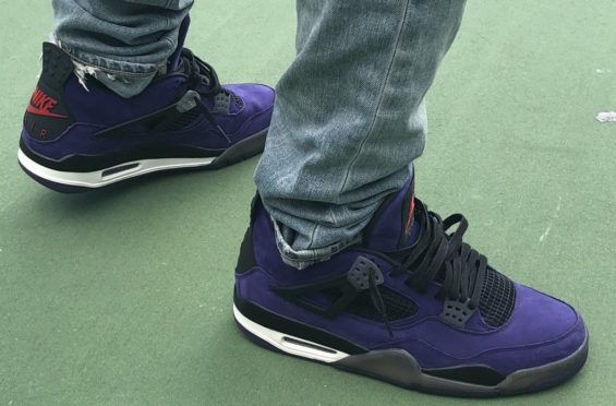 435b63f59a4386 How Do You Like The Travis Scott x Air Jordan 4 Purple  A Travis Scott