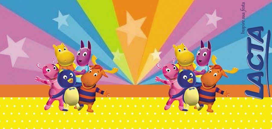 Backyardigans Kit Festa Infantil Gratis Para Imprimir Inspire