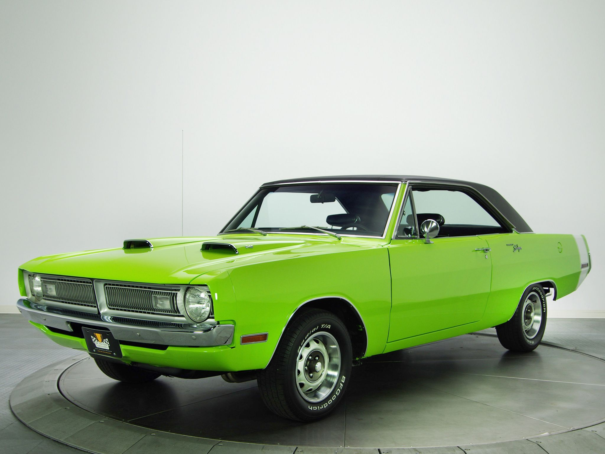 Dodge Dart Swinger ... Ferraris and such are nice, but this is my ...