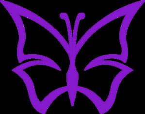 Purple Butterfly clip art - vector clip art online, royalty free & public domain