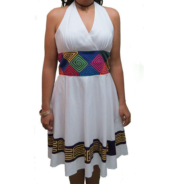 Vestidos Inspirados En La Cultura Griega: Inspirado En La Cultura Guna Contemporáneo En Cuello