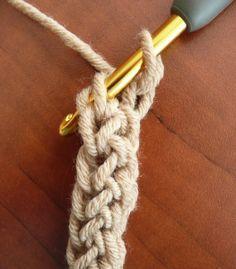 Foundation Single Crochet Stitch Tutorial - (dorischancrochet)