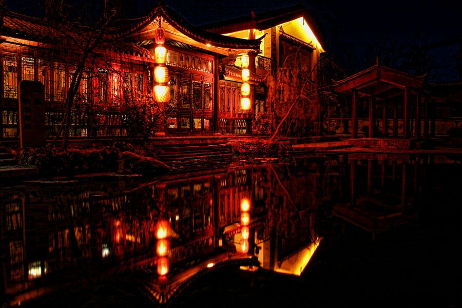 chinese house by hakkat