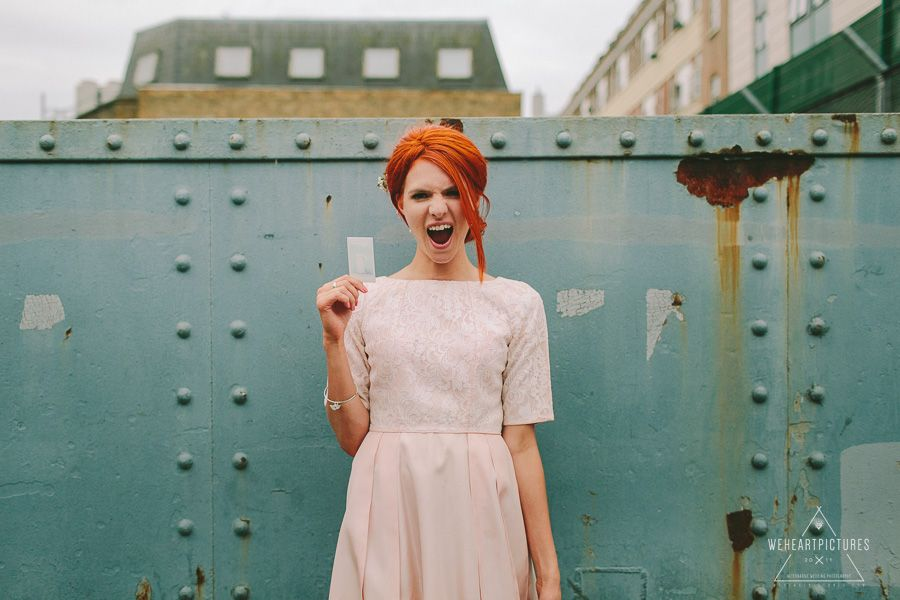 Creative Alternative Wedding Photographer London At Chads Place Kings Cross St Stephens