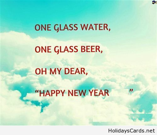 Happy New Year Rhymes Happy New Year Quotes Happy New Year Quotes Funny Happy New Year Status