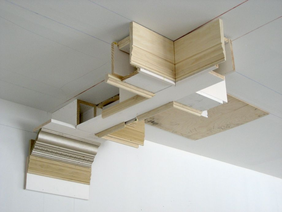 how to build a coffered ceiling | Coffered Ceiling & Media ...