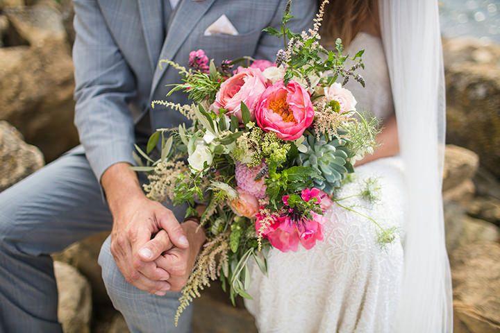 Boho Planned Weddings Peach And Aqua Tipi Wedding By Binky Nixon
