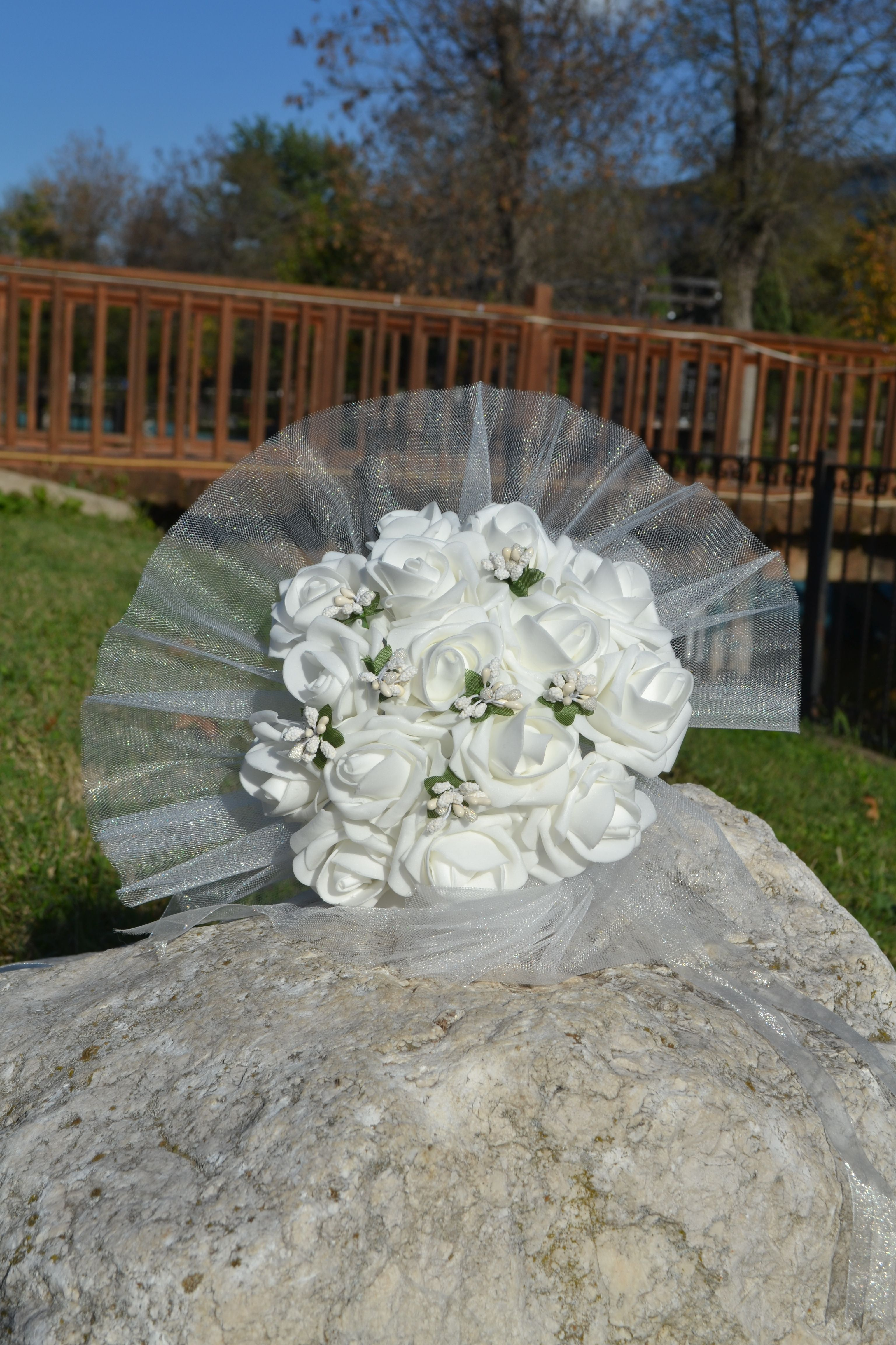 Wedding decorations ghana  whide bride bouquethandmade wedding bride bouquet  bride bouquet