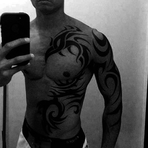 Tattoos For Men  Manly Design Ideas  Man Style  Tattoo  50 badass tribal tattoos for men  manly design ideas 50 Badass Tribal Tattoos For Men  Manly Design Ideas  Man Sty...