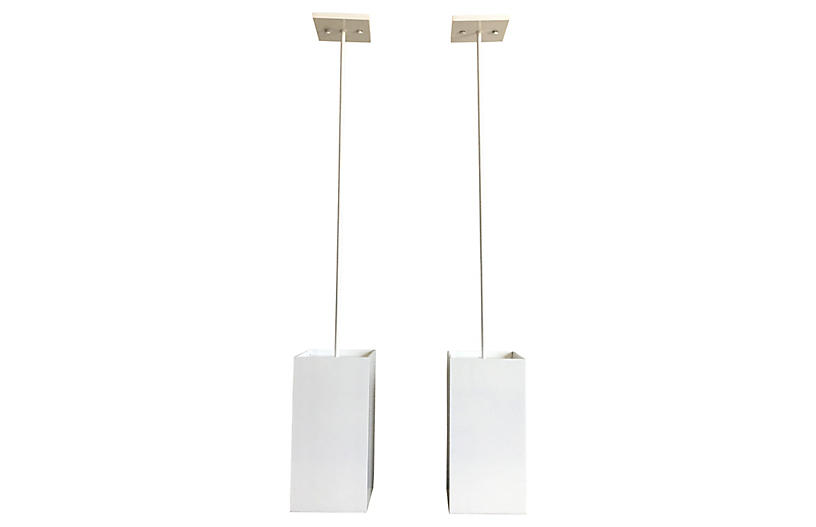 Prescolite Pendant Lights Set Of 2 C The Light Interiors
