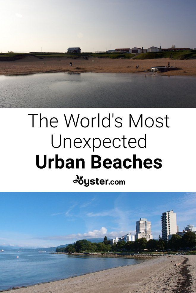 9 Unexpected Urban Beaches Around The World Places To Go Before You Pinterest City Beach And Life