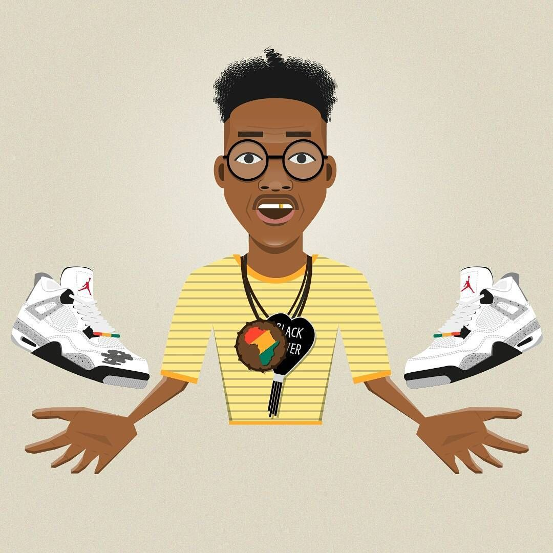Buggin Out ( theGiancarloEsposito) with dirty Nike Air Jordan IV Cement in  Do The Right Thing (1989) by Capitoni  bugginout  marsblackmon   dotherightthing ... bd97ca352