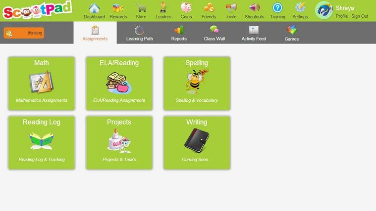Scootpad // ScootPad is an adaptive learning platform for