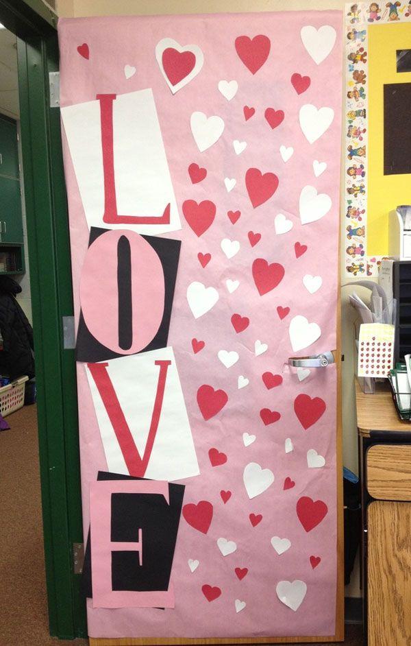 27 Creative Classroom Door Decorations For Valentine S Day Jared