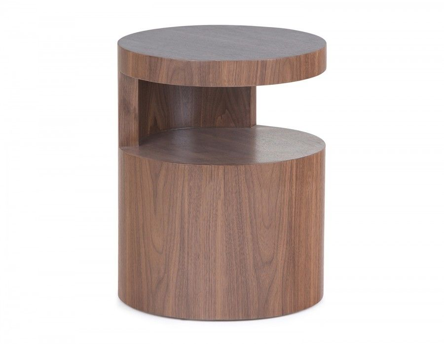 Corey's space-saving design is a must for modern living rooms, bedrooms and offices. With a circular frame and open shelf, it's an accent piece unlike any other. Try Corey beside a reading chair, bed or sofa — with no sharp edges, its organic shape is conducive to relaxation and clutter-free living.